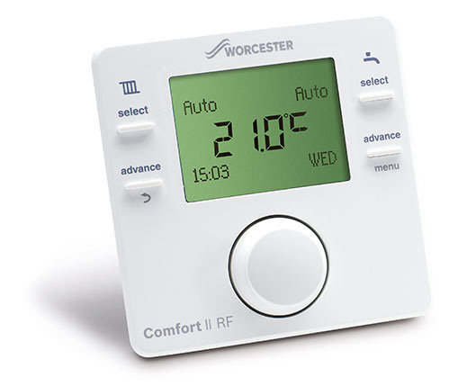 Programmable room thermostat