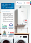 Greenstar CDi Classic Regular One Page Guide Preview Image