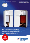 Greenstar Floorstanding Boilers (FS CDi and Highflow CDi) Technical and Specification Information