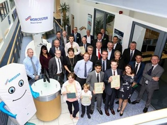 Awards ceremony sees Worcester reward environmental excellence