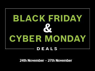 Don't be green with envy this Black Friday