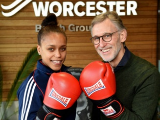 Worcester is boxing clever thanks to our latest visitor