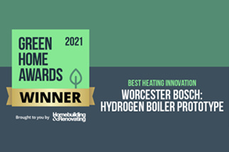 Worcester Bosch scoops innovation award with Hydrogen prototype boiler