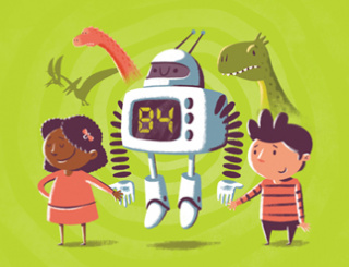 Our new children's book 'A Robot called B4' launches on World Earth Day